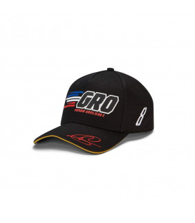 Casquette HAAS F1 Racing Team Officiel F1 Romain Grosjean 8 Formule 1