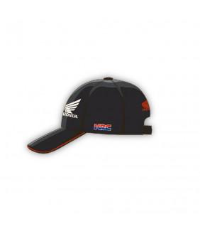 Casquette Homme Honda HRC Racing Stripe Officiel MotoGP