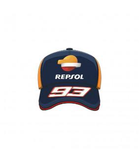 Casquette Homme Honda Repsol Dual MM93 Officiel MotoGP Marc Marquez