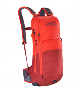 Sac EVOC CC 10l + poche 2l orange/rouge