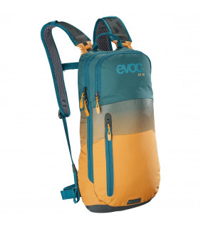EVOC Sac CC 6l + poche 2l petrol/orange