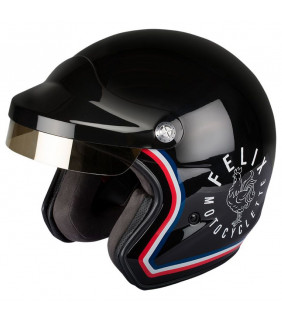 Casque Moto ST520 Signature noir Felix