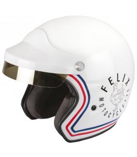 Casque Moto ST520 Signature blanc Felix