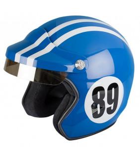 Casque Moto ST520 Monte Carlo bleu de france Felix