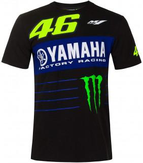 T-shirt Homme VR46 Yamaha M1 Dual Monster Energy Officiel MotoGP Valentino Rossi
