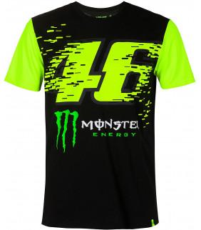 T-shirt Homme VR46 Monza Monster Energy Officiel MotoGP Valentino Rossi