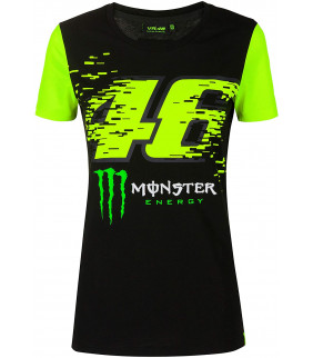 T-shirt Femme VR46 Monza Monster Energy Officiel MotoGP Valentino Rossi