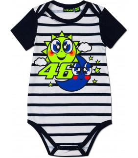 Body Enfant VR46 Soleil/Lune Officiel MotoGP Valentino Rossi