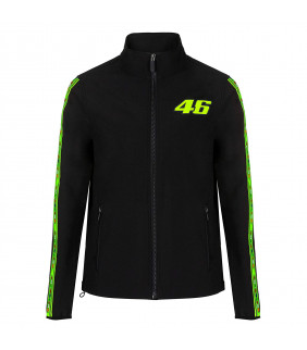 Veste Softshell Homme VR46 Bande The Doctor Officiel MotoGP Valentino Rossi