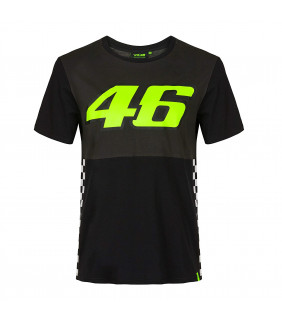 T-shirt Homme VR46 RACE Officiel MotoGP Valentino Rossi