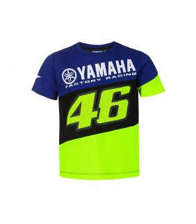 T-shirt Enfant VR46 Yamaha Factory M1 Racing Officiel MotoGP Valentino Rossi