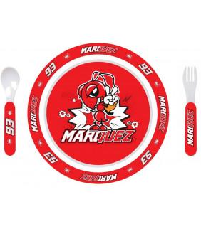 Set de couvert enfant MM93 Marc Marquez 93 Officiel MotoGP