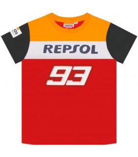T-shirt enfant Repsol Honda Dual Marc Marquez Big 93 Officiel MotoGP