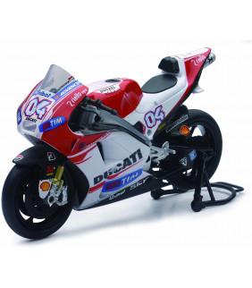 Moto Miniature New Ray Ducati DESMOSEDICI Andrea Dovizioso N.04 Moto GP 2015 1:12 Officiel MotoGP