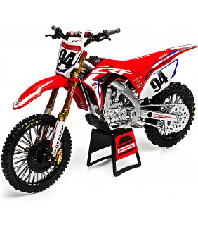 Moto Miniature New Ray Honda 450 CR-F Ken Roczen Team Honda HRC Supercross 1/10 Modell