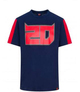 T-shirt Fabio Quartararo 20 El Diablo Officiel MotoGP
