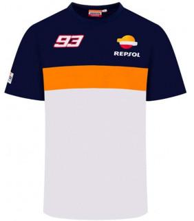 Tshirt Homme Repsol Honda Racing Dual Marc Marquez Officiel MotoGP MM93