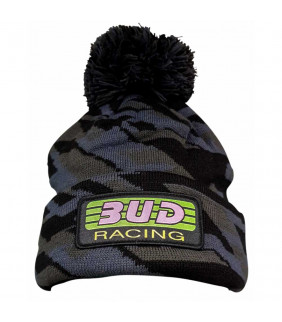 Bonnet Pompon Bud Racing Team Officiel Motocross Camo