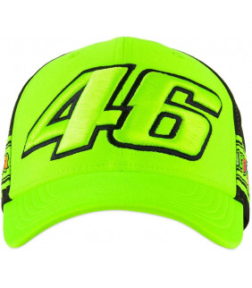Casquette Homme Bandes The Doctor VR46 Officiel MotoGP Valentino Rossi