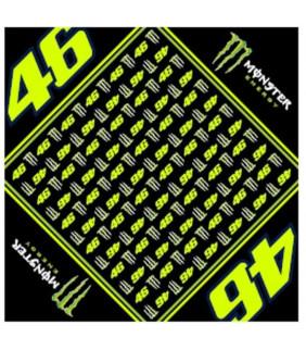 Bandana Homme VR46 Monza Monster Energy Officiel MotoGP Valentino Rossi