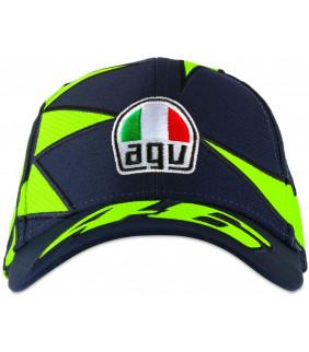 Casquette Homme VR46 Soleil/Lune Officiel MotoGP Valentino Rossi