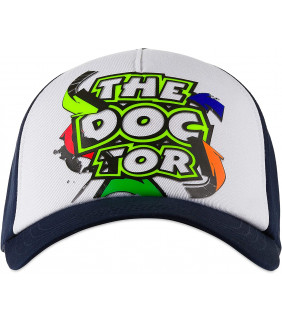 Casquette Femme VR46 The Doctor Street Art Officiel MotoGP Valentino Rossi