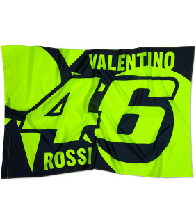 Drapeau VR46 Soleil/Lune Officiel MotoGP Valentino Rossi