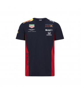 T-Shirt Homme Puma Aston Martin Sponsor F1 Racing Formula Team Red Bull Officiel