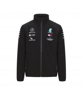 Veste Softshell Homme Mercedes-AMG Petronas Motorsport Formule 1 Team F1 Driver