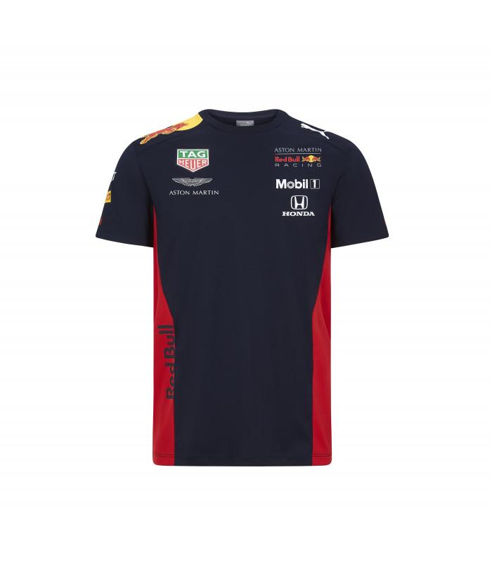 T-Shirt Enfant Puma Aston Martin Sponsor F1 Racing Formula