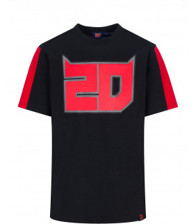 T-shirt Homme Fabio Quartararo 20 El Diablo Officiel MotoGP