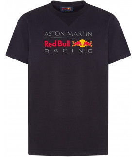T-Shirt Enfant Aston Martin Sponsor F1 Racing Formula Team RedBull Officiel