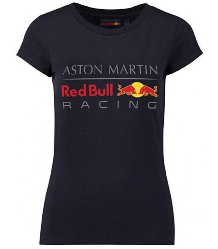 T-Shirt Femme Logo Aston Martin Sponsor F1 Racing Formula Team RedBull