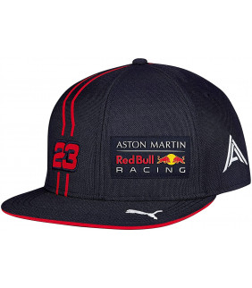 Casquette Plate F1 Racing Formula 1 Officiel Team RB Racing Aston Martin Dual Alex Aldon 23