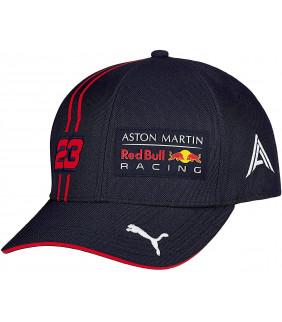 Casquette Enfant F1 Racing Formula 1 Officiel Team RB Racing Aston Martin Dual Alex Aldon 23