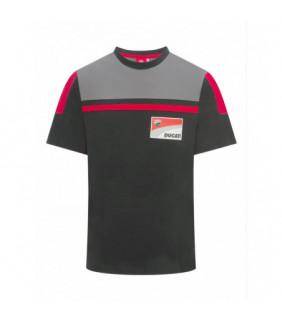 T-shirt Ducati Corse Homme Contrast Yoke Gris