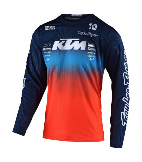 Maillot Homme Troy Lee Designs KTM GP AIR Stain'd Team Officiel MotoCross