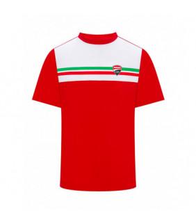 T-shirt Ducati Corse Homme drapeau Italien