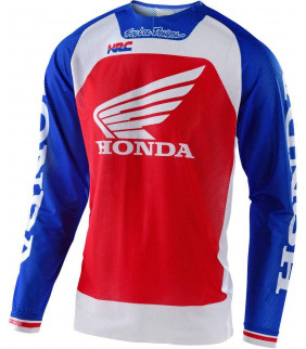 Maillot Homme Troy Lee Designs HRC Honda SE Pro AIR Boldor Team Officiel MotoCross