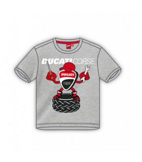 T-shirt enfant Ducati Corse Mascotte