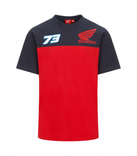T-shirt Homme Alex Marquez 73 HRC Honda Racing Officiel MotoGP