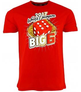 T-shirt Homme MM93 Marc Marquez 93 champion du monde Big 6 Officiel MotoGP