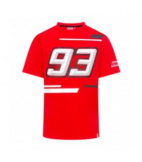 T-shirt Homme Marc Marquez BIG 93 Rouge