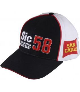 Casquette Marco simoncelli SQUADRA Corse Sic58 Officiel MotoGP