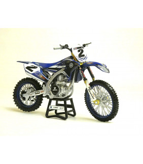 Moto Miniature New Ray Moto Factory Racing Team Cooper Webb 1/12 Miniature Officiel Motocross