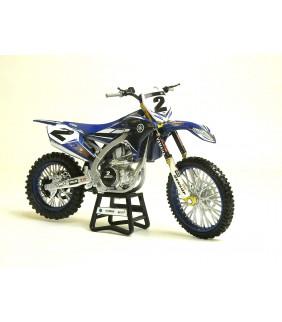 Moto Miniature New Ray Moto Factory Racing Team Cooper Webb 1/12 Miniature Officiel Motocross