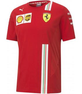 Tshirt Homme Ferrari Scuderia Team Motorsport F1 Officiel Formule 1 Puma Collection