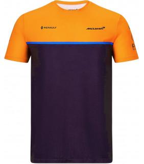 T-Shirt Homme McLaren Team Set Up Officiel F1 Formule 1