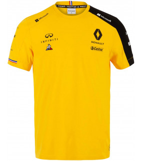 T-shirt Homme RENAULT Le Coq Sportif F1 Racing Team Officiel Formule 1
