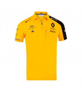 Polo Homme RENAULT Le Coq Sportif F1 Racing Team Officiel Formule 1